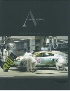 2008 ASTON MARTIN MAGAZINE SUMMER ENGELS