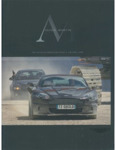 2008 ASTON MARTIN MAGAZINE AUTUMN ENGLISH