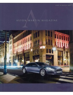 2009 ASTON MARTIN MAGAZINE WINTER ENGLISH