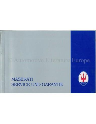 1999 maserati quattroporte v8 evoluzione maintenance warranty man new 1987 maserati 420i maintenance warranty manual italian sciox Images