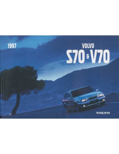 1997 VOLVO V70 S70 INSTRUCTIEBOEKJE NEDERLANDS