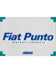 1995 FIAT PUNTO INSTRUCTIEBOEKJE NEDERLANDS