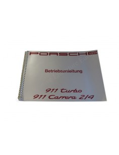 1992 PORSCHE 911 TURBO / CARRERA 2/4 OWNER'S MANUAL GERMAN