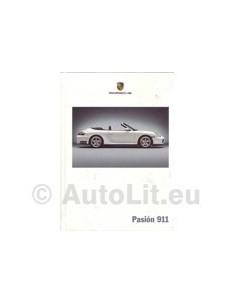 2004 PORSCHE 911 CARRERA & TARAGA HARDCOVER BROCHURE SPAANS