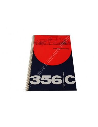 1964 PORSCHE 356 C INSTRUCTIEBOEKJE DUITS