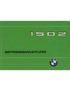 1975 BMW 1502 BETRIEBSANLEITUNG DEUTSCH