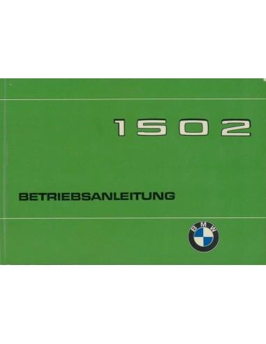 1975 BMW 1502 INSTRUCTIEBOEKJE DUITS
