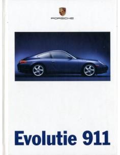 1998 PORSCHE 911 CARRERA HARDCOVER PROSPEKT NIEDERLÄNDISCH