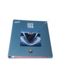 1997 ALFA ROMEO 156 'LISBOA' PRESSEMAPPE ENGLISCH