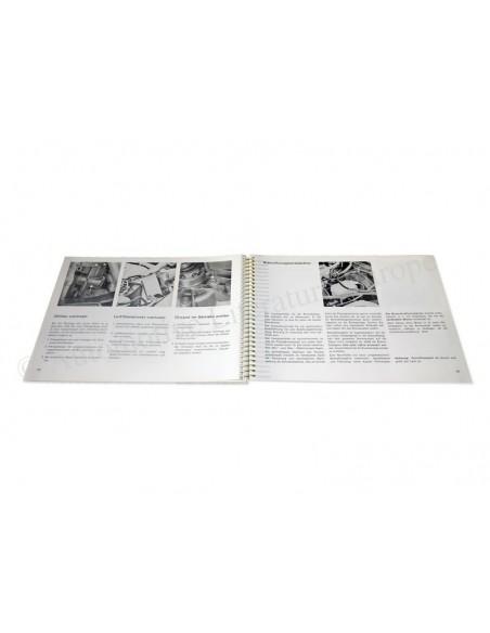 1983 PORSCHE 924 INSTRUCTIEBOEKJE DUITS