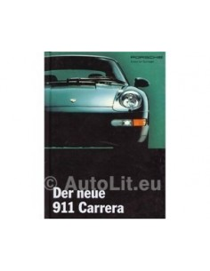 1994 PORSCHE 911 CARRERA HARDCOVER PROSPEKT DEUTSCH
