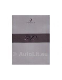 2007 PORSCHE 911 CARRERA + TARGA HARDCOVER PROSPEKT ENGLISCH