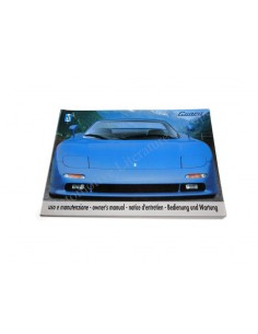 1993 DE TOMASO GUARA OWNER'S MANUAL
