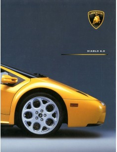 2000 LAMBORGHINI DIABLO 6.0 BROCHURE ENGLISH