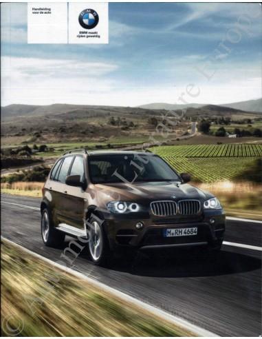 2010 BMW X5 X6 M INSTRUCTIEBOEKJE NEDERLANDS