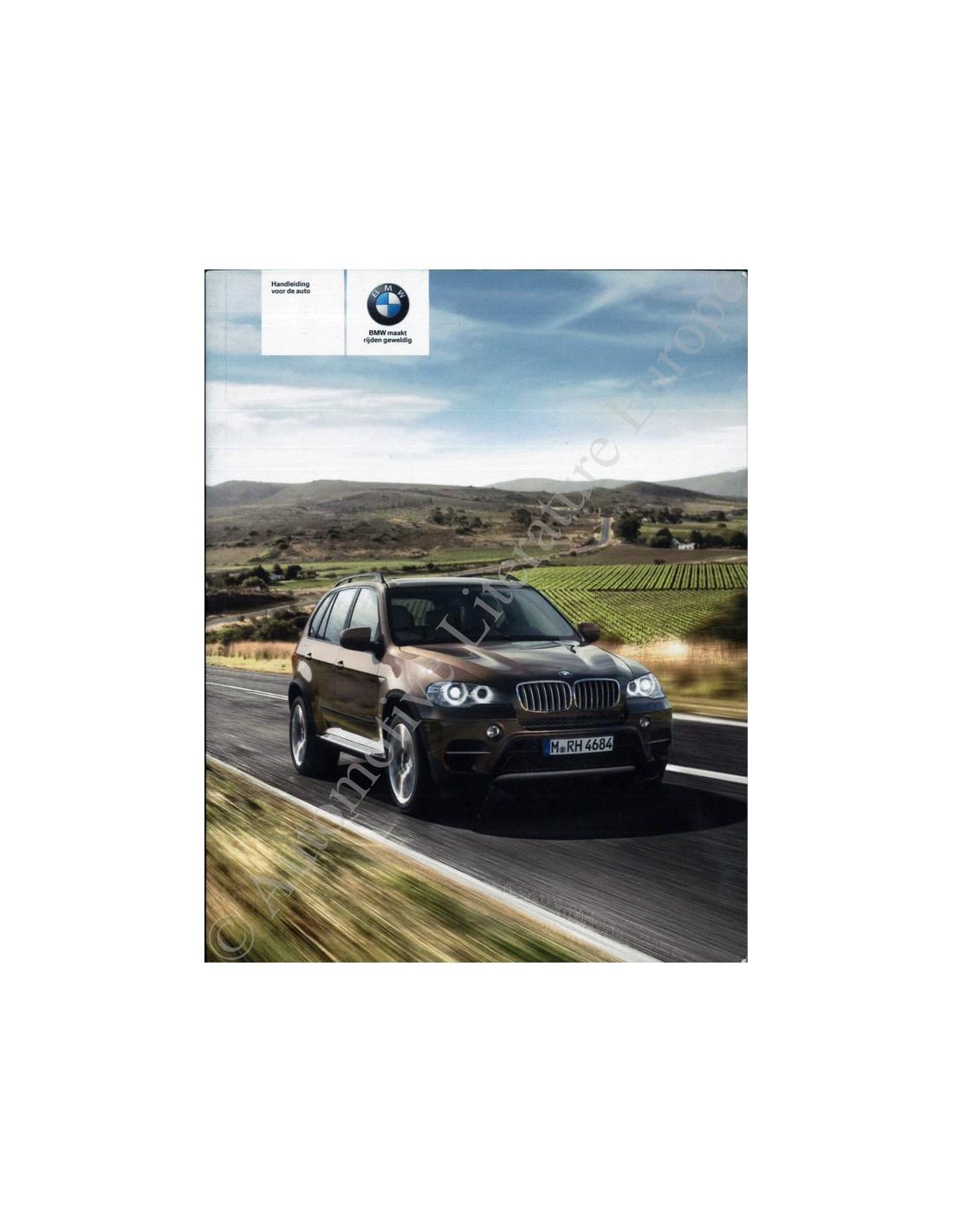 2010 Bmw X6 M Exterior: 2010 BMW X5 X6 M INSTRUCTIEBOEKJE NEDERLANDS