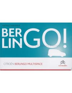 2015 CITROEN BERLINGO MULTISPACE BETRIEBSANLEITUNG NIEDERLÄNDISCH
