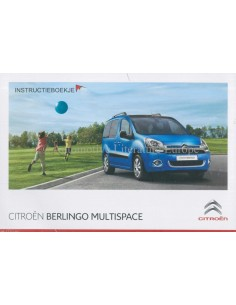 2014 citroen berlingo multispace owners manual handbook dutch rh autolit eu Citroen Berlingo 1.6 Citroen Berlingo 2013