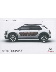 2014 CITROEN C4 CACTUS OWNERS MANUAL DUTCH