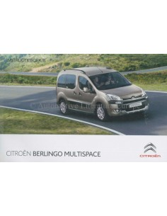 2013 CITROEN BERLINGO MULTISPACE BETRIEBSANLEITUNG DEUTSCH