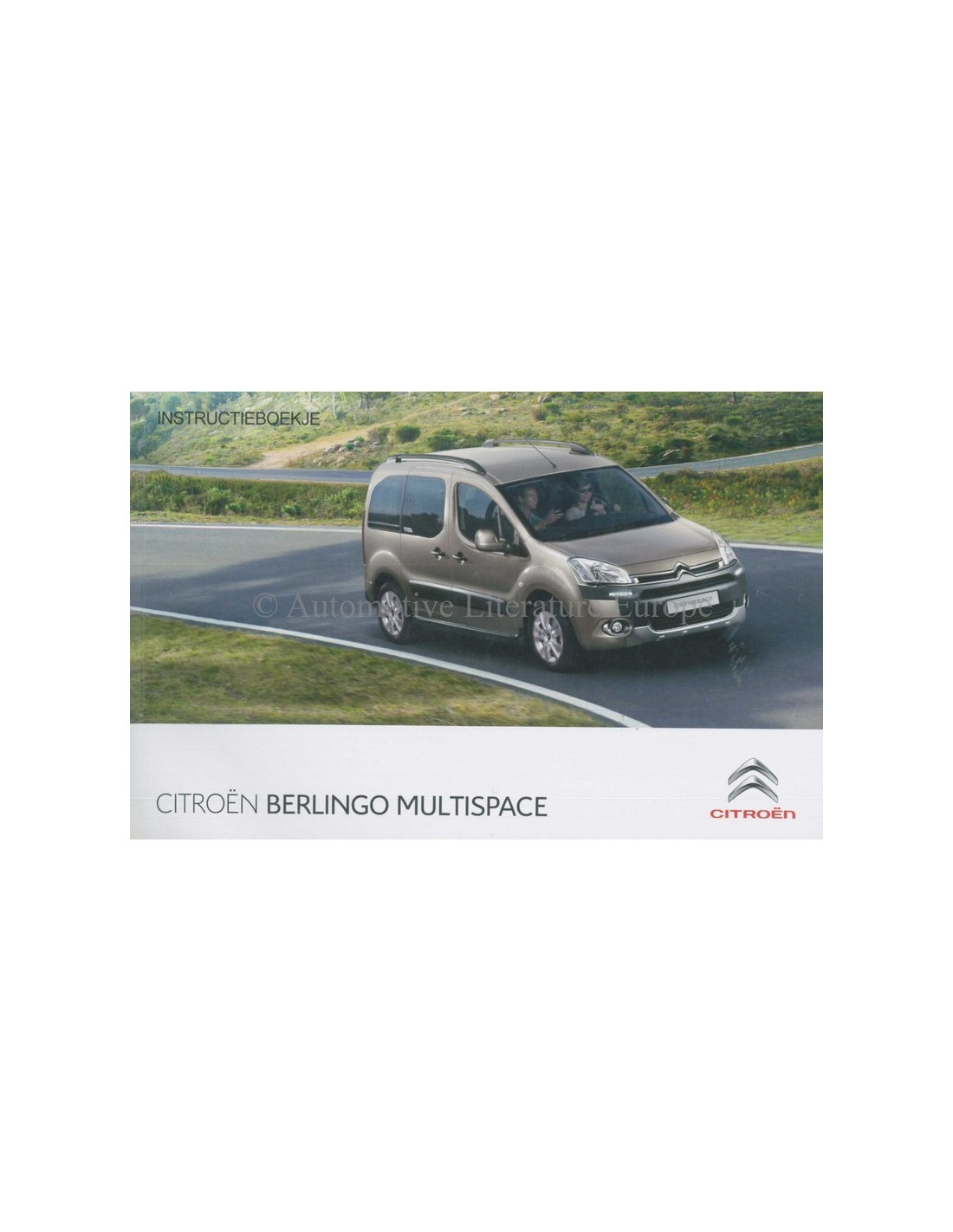 2013 citroen berlingo multispace owners manual handbook dutch rh autolit eu Citroen Berlingo Model C3 Pluriel