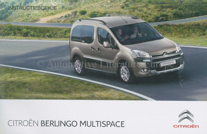 2013 citroen berlingo multispace owners manual handbook dutch rh autolit eu 2002 Citroen Berlingo Van Citroen Berlingo Van 2017