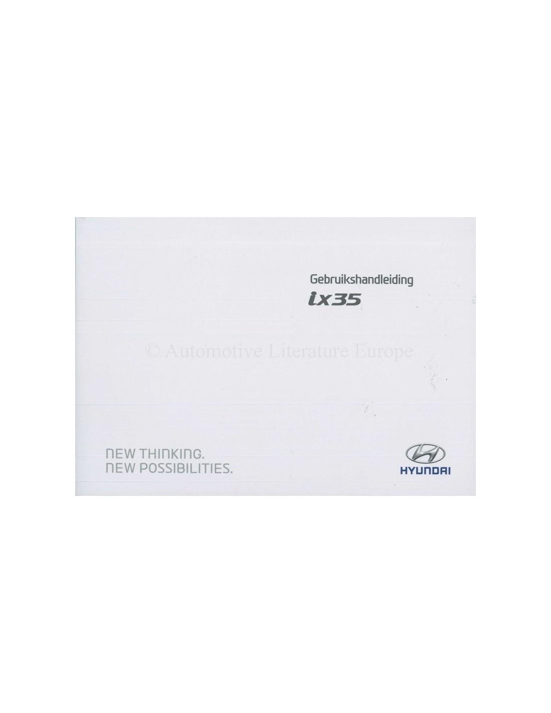 2014 hyundai ix35 owners manual handbook dutch rh autolit eu ix35 user manual pdf user manual ix800 generac