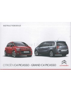 2015 CITROEN C4 PICASSO / GRAND C4 PICASSO OWNERS MANUAL HANDBOOK DUTCH