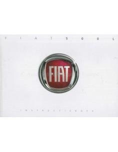 2013 FIAT 500L OWNERS MANUAL DUTCH