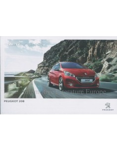 2014 PEUGEOT 208 OWNERS MANUAL SPANISH