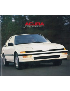 1988 ACURA INTEGRA BROCHURE ENGLISH
