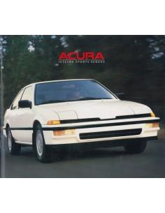 1988 ACURA INTEGRA PROSPEKT ENGLISCH