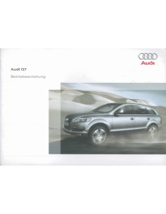 2008 AUDI Q7 OWNER'S MANUAL GERMAN