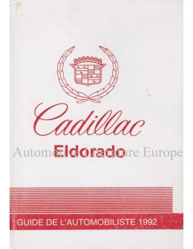 1992 cadillac eldorado owner s manual french canada rh autolit eu 2000 cadillac eldorado service manual 1992 cadillac eldorado owners manual
