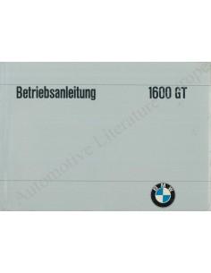 1965 BMW 1800 TI BETRIEBSANLEITUNG DEUTSCH