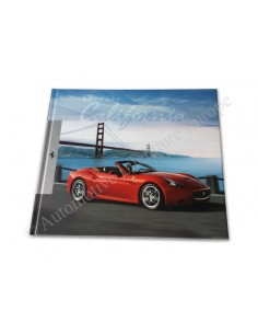 2008 FERRARI CALIFORNIA HARDCOVER BROCHURE 3351/08