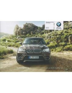 2011 BMW X5 X6 QUICK REFERENCE MANUAL DUTCH
