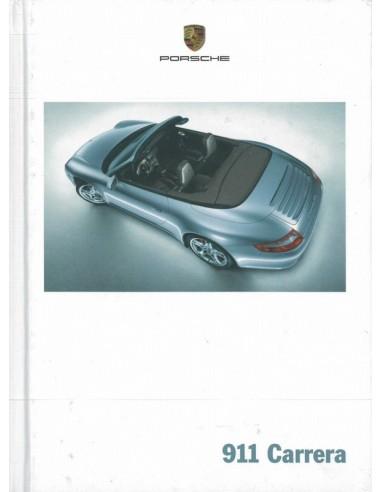 2005 PORSCHE 911 CARRERA HARDCOVER BROCHURE DUITS
