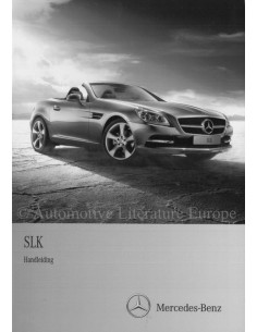 2011 MERCEDES BENZ SLK KLASSE OWNER'S MANUAL DUTCH