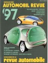 1997 AUTOMOBIL REVUE YEARBOOK GERMAN FRENCH