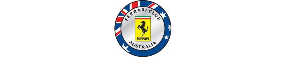FERRARI AUSTRALIAN REGISTER