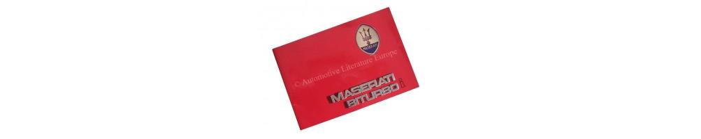 MASERATI WARRANTY & OWNER'S SERVICE